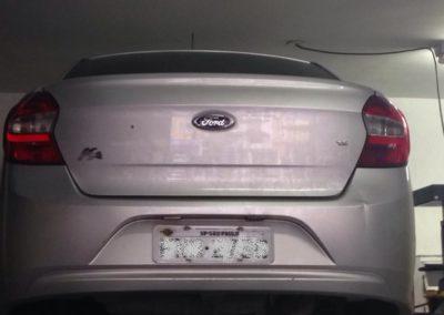 Troca da embreagem e retifica do volante do Ford ka (4)