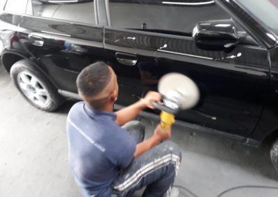 Pintura e Polimento do Audi A3 - Guia Norte